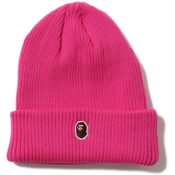 APE HEAD ONE POINT KNIT CAP /AP