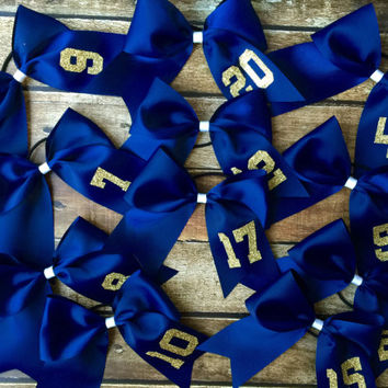 Glitter Monogram Cheer Bow, Team Number bow, Softball, Monogrammed Gifts, Big Cheer Bow, Cheerleaders, Cheer Camp Bows for Cheer