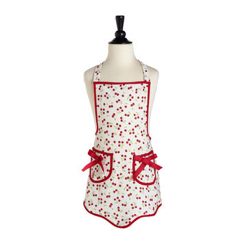 Retro Cherries Child's Ava Apron