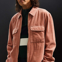UO Ryder Corduroy Zip-Up Shirt | Urban Outfitters