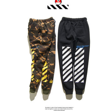 Cotton Pants Camouflage Sportswear [10309458759]