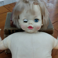 Vintage Idea Toy Corp Baby Doll FL20-E-H-354 Adorable Nostalgic Nursery Childs Room Decor