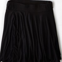AEO Women's Don't Ask Why Pleated Circle Skirt