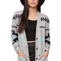 Roxy Oversized Intarsia Cardigan at PacSun.com