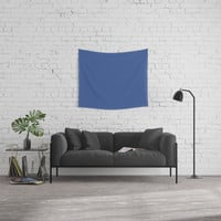 Facebook Blue Wall Tapestry by spaceandlines
