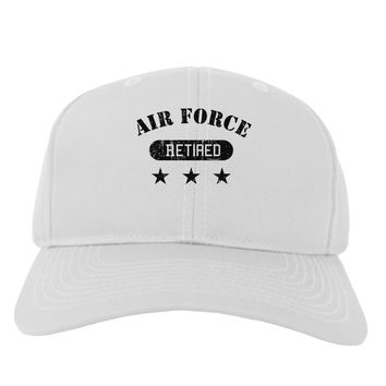 Retired Air Force Adult Baseball Cap Hat