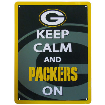 Green Bay Packers Keep Calm Sign FWPK115