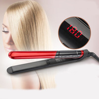 Professional 2-in-1 Hair Straightener and Curler
