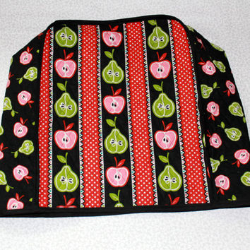 Handmade Mixer Cover for KitchenAid Stand Mixer - Apples and Pears