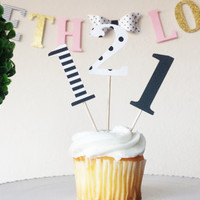 number 1 cupcake toppers(12 per order),one cupcake toppers,first birthday,gold glitter one,birthday cupcake toppers,celebrate,happy birthday