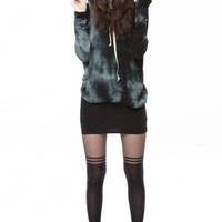 Brandy ♥ Melville |  Bettina Tie-Dye Hoodie - Just In