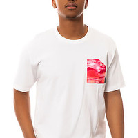 The Ocean Pocket Tee in White