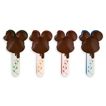 Disney Parks Mickey Mouse Ice Cream Bar Food Bag Clips New