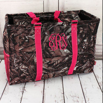 Camo Collapsible Utility Tote