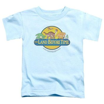 ac NOOW2 Land Before Time - Dino Breakout Short Sleeve Toddler Tee