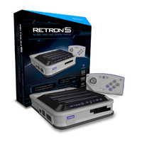 Gray RetroN 5 Gaming Console