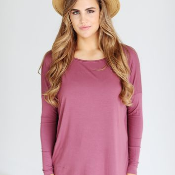 Nocturne PIKO Long Sleeve Top