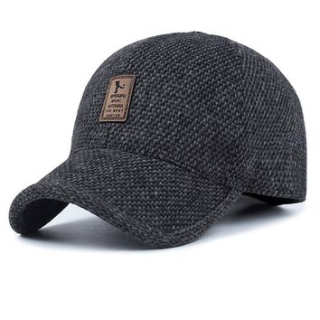 Men'S Cotton Baseball Cap