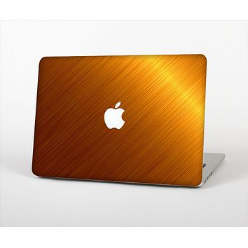 "The Gold Brushed Aluminum Surface Skin Set for the Apple MacBook Pro 13"" with Retina Display"