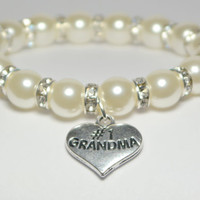 grandma bracelet - grandmother gift - grandma gifts - grandma to be - gift for nana - special grandma - grandma jewelry - handmade bracelet