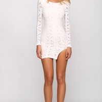 HelloMolly | Nude Beach Dress White - Dresses