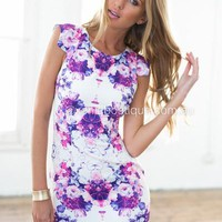Bombshell Dress (Purple) | Xenia Boutique | Women's fashion for Less - Fast Shipping