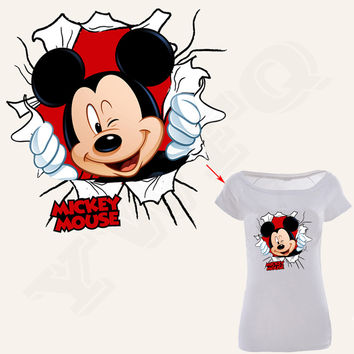 New Arrival Cartoon Patch T-Shirt Dress Heat Transfer A-level Washable Patches For Clothing Easy By Household Irons