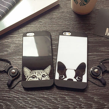 Cute Dog and Cat iPhone 7 7Plus Case