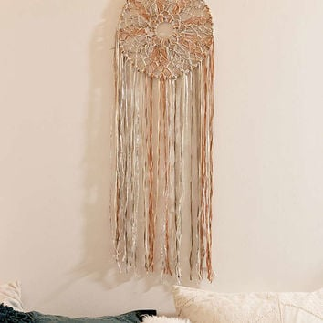 Macrame Braid Dream Catcher - Urban Outfitters