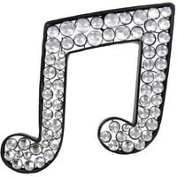 Metal Bling Double Music Note with Acrylic Gems | Shop Hobby Lobby