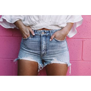 True To You Denim Shorts