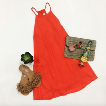 Gameday Ready Dress - Orange
