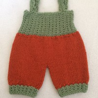 "Crochet romper for 16 and 18"" dolls... Waldorf dolls....."