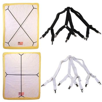 Elastic Bed Sheet Clip Fasteners Mattress Cover Blankets Grippers Holder Fixing Slip-Resistant Belt
