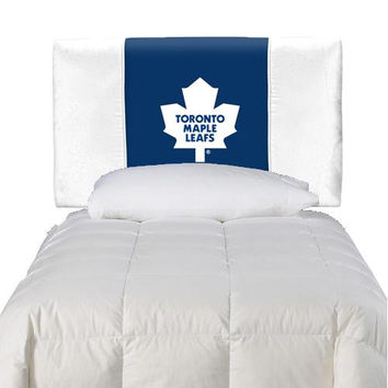 Toronto Maple Leafs Twin Headboard