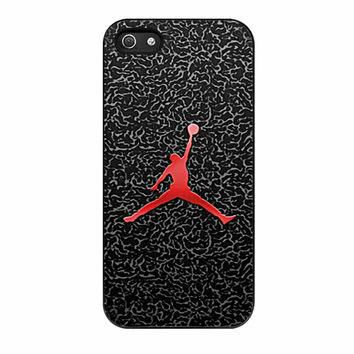 Michael Jordan The Legend Flying iPhone 5 Case