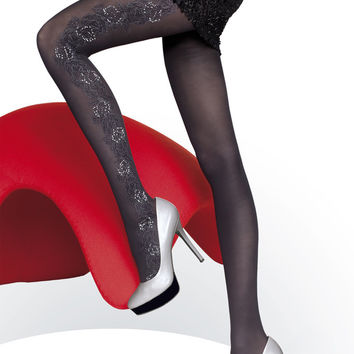 Josephine Patterned Tights