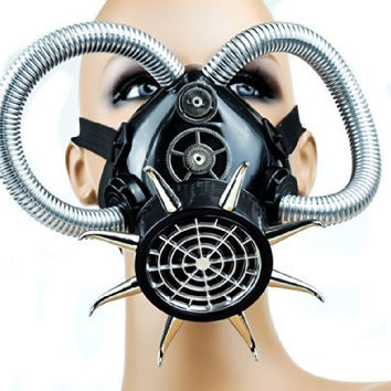 Cyber Punk Tube Cosplay Respirator Gas Mask Anime