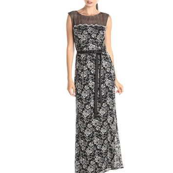 Alex Evenings - Sleeveless Floral Long Dress 1121044