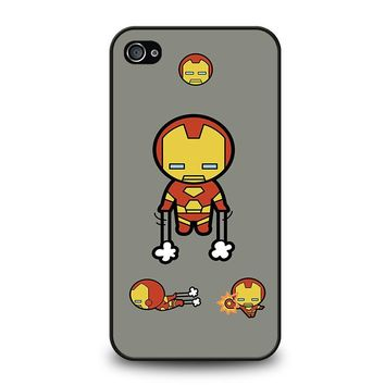 IRON MAN KAWAII Marvel Avengers iPhone 4 / 4S Case Cover