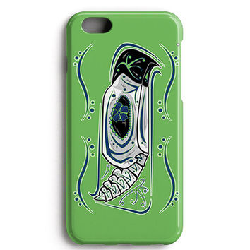 Seahawks Limited Edition Sugar Skull Phone Case