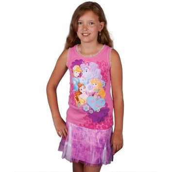 Chenier Disney Princesses - Be a Princess Girls Juvy Skirt Set