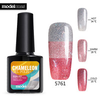 Modelones Candy Color UV Nail Gel Polish 10ML Hot Sale Temperature Chameleon UV Nail Gel Lacquer Change Color Led Gel Nail Glue-in Nail Gel from Beauty & Health on Aliexpress.com | Alibaba Group