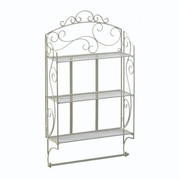 Scrollwork Display Wall Shelf ( 2pk )