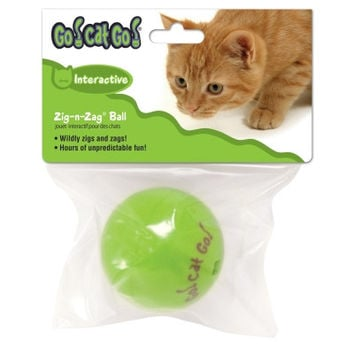Our Pets Go Cat Go Zig-N-Zag Ball