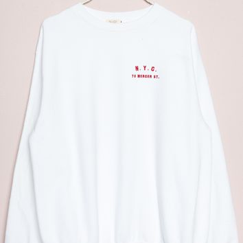 Erica NYC Mercer St Sweatshirt