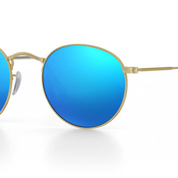 Customize Ray-Ban RB3447 Round Metal Sunglasses | Ray-Ban USA