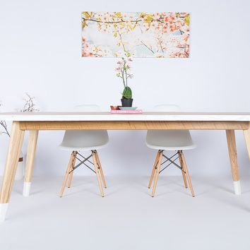 """The Lihue"", Live Edge Elm Dining Table"