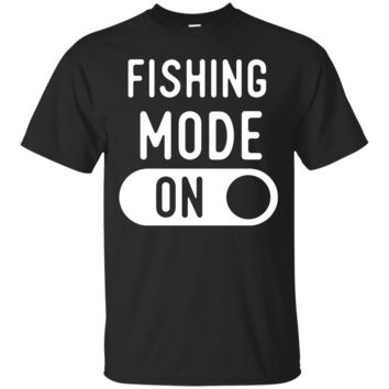Funny Fishing Mode T Shirts. Gifts Ideas for Anglers