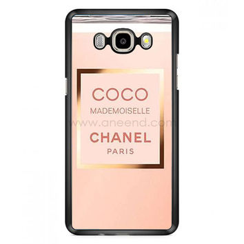 Coco Chanel Perfume Quotes Mademoiselle Samsung Galaxy J7 (2016) Case  | Aneend.com